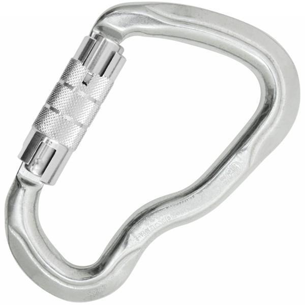 karabinek-aluminiowy-ferrata-twist-lock-silver